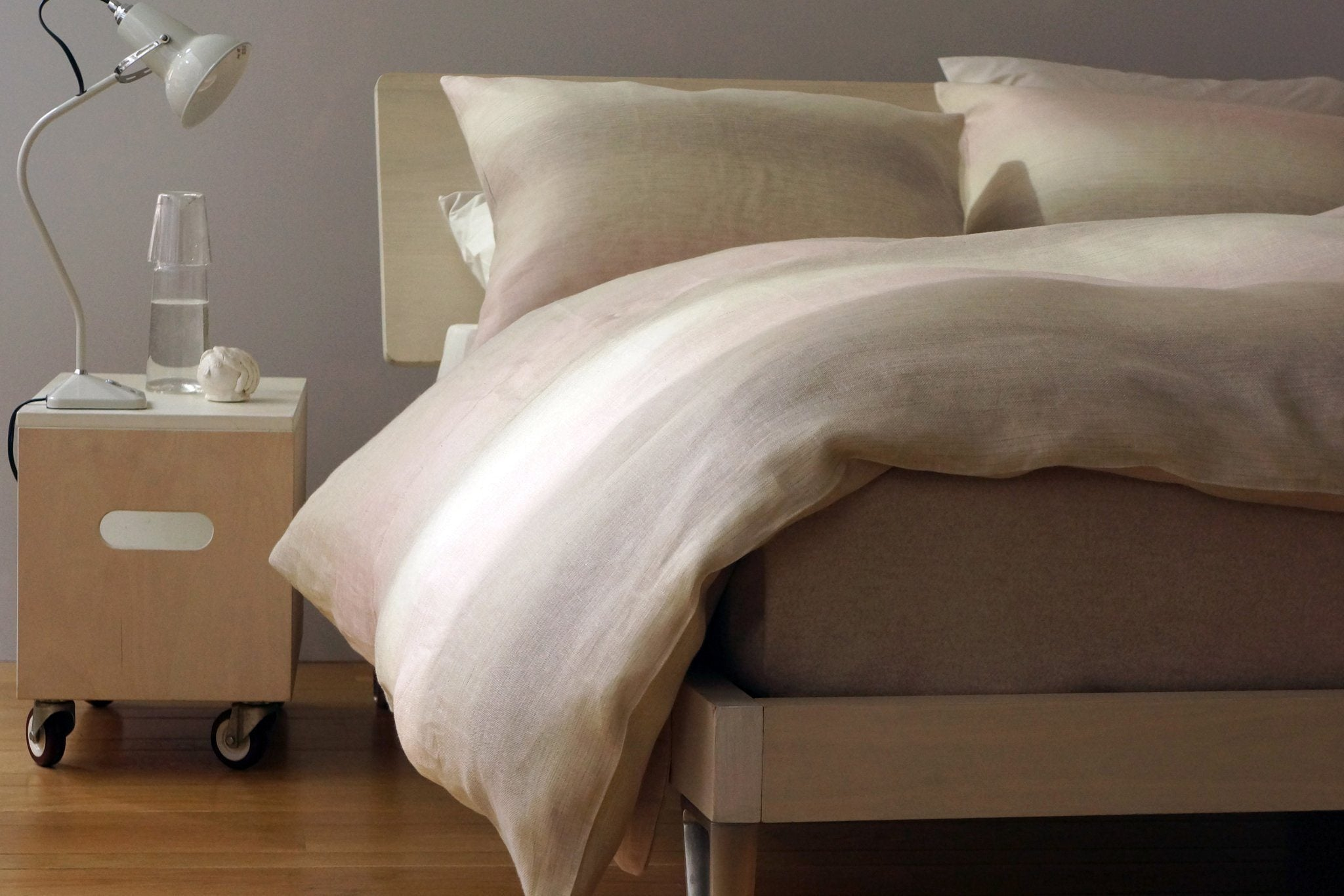 Area Vivienne French Back Pillow Case Mineral Standard