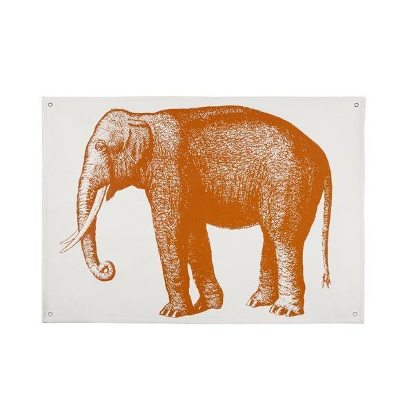 Thomas Paul Elephant Wall Panel - Alcazar