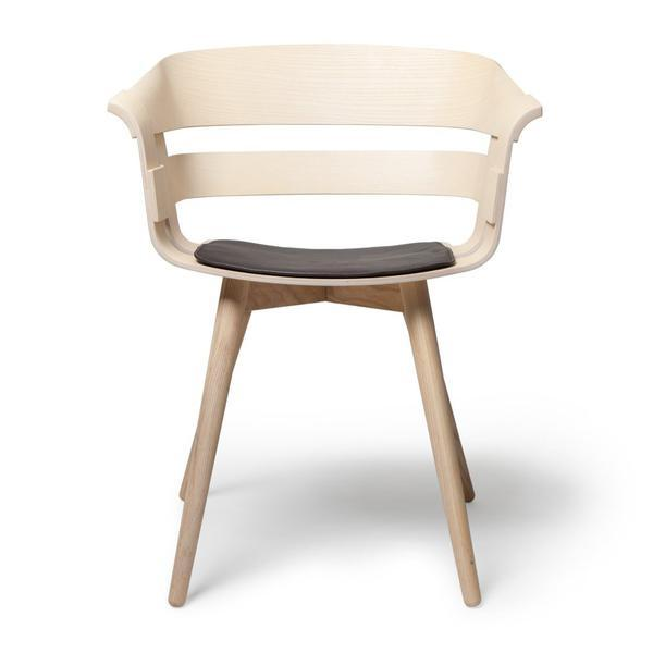 Design House Stockholm Wick Chair Cushion Beige Felt