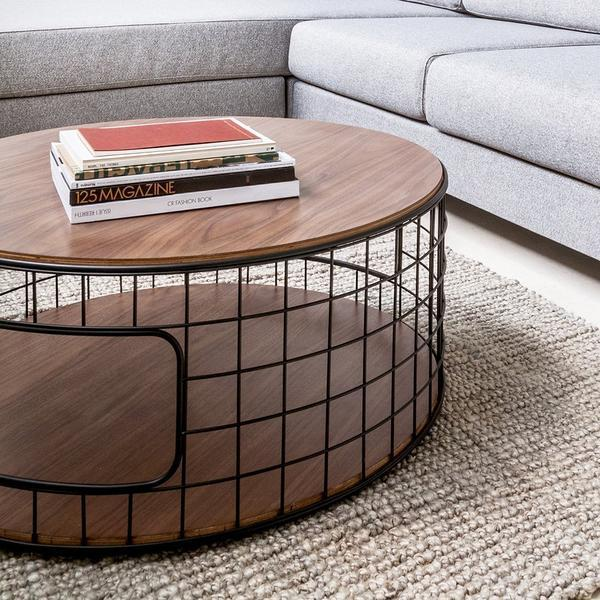 GUS Wireframe Coffee Table Oak