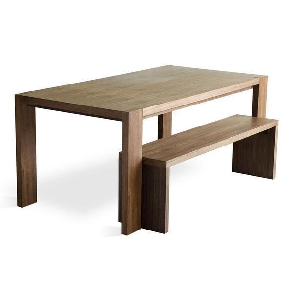 GUS Plank Bench Walnut