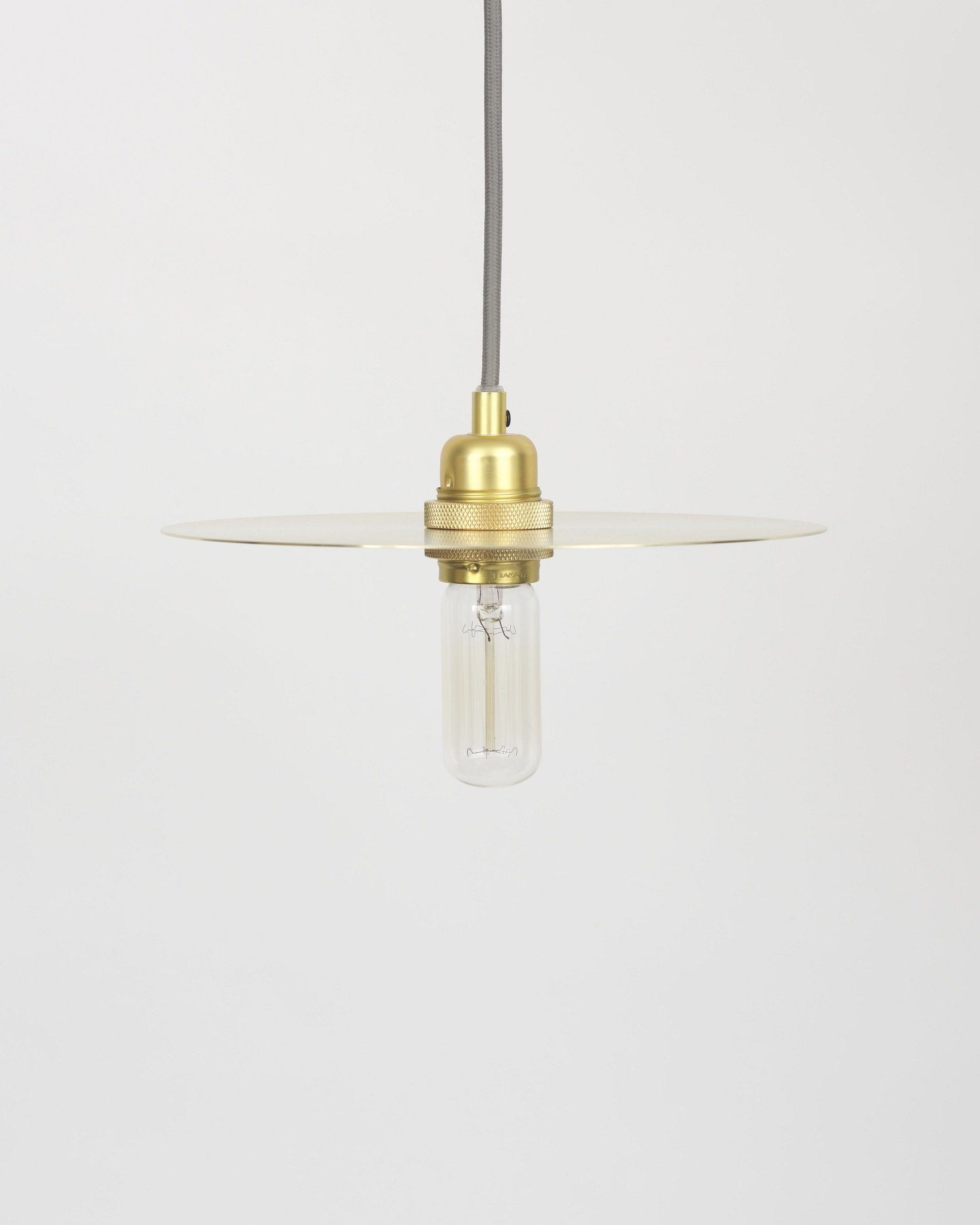 Frama Circle Brass Pendant Small