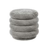 Ferm Living Pouf Round - Small Concrete