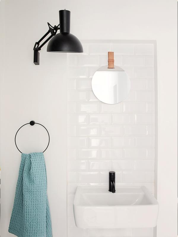 Ferm Living Towel Hanger Black