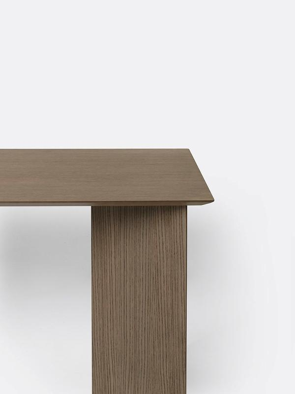 Ferm Living Mingle Table Legs - Veneer | W48 Dark Veneer