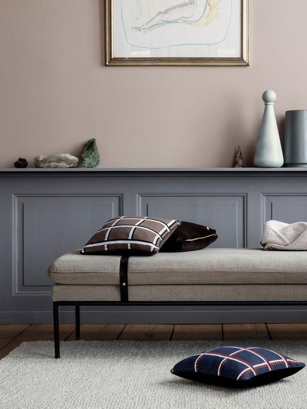 Ferm Living Turn Daybed Wool/Grey