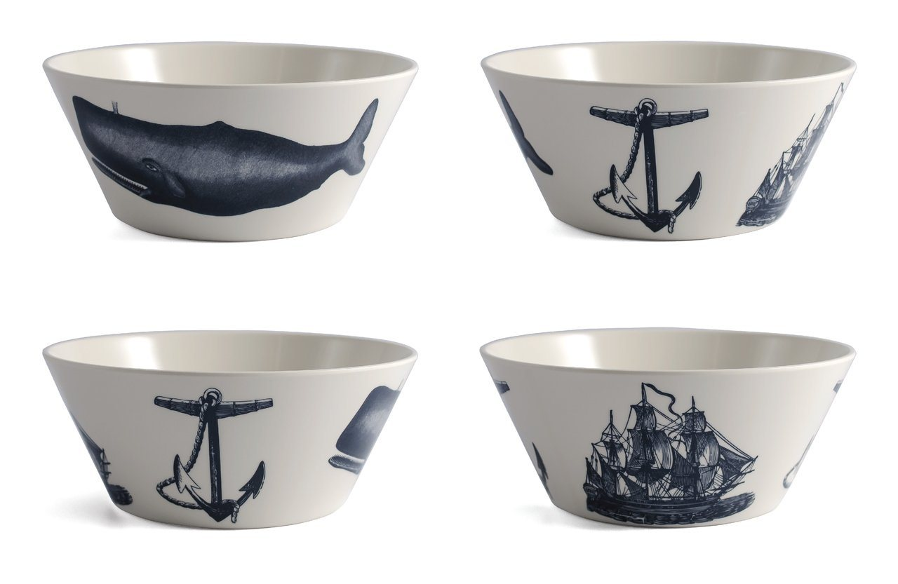 Thomas Paul Scrimshaw Small Bowls Set of 4