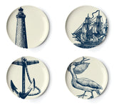 Thomas Paul Scrimshaw Side Plate Set of 4
