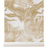 Ferm Living Marbling Wallpaper Gold