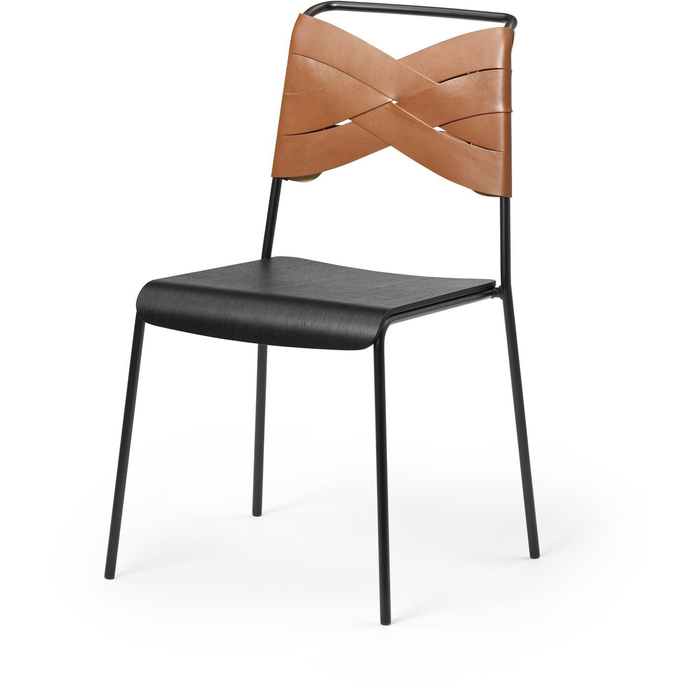 DESIGN HOUSE STOCKHOLM Torso Chair Black Black/Black