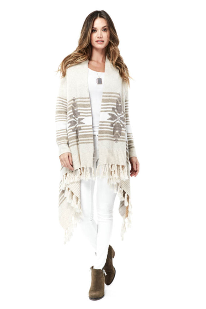 Alpine Fringed Cardigan
