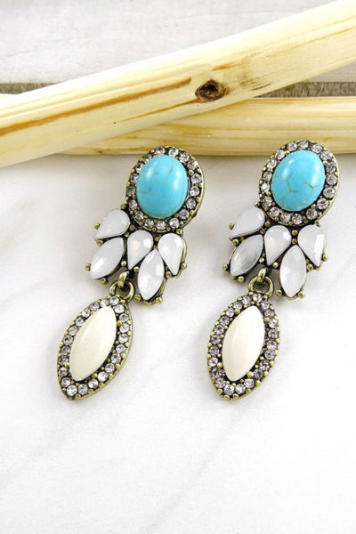 Hannah Rhinestone Earrings