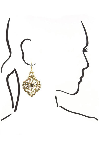 Amelia Filigree Earring