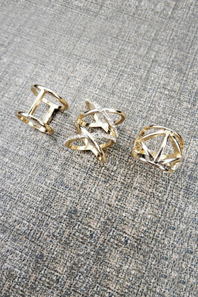 Charity Ring Trio