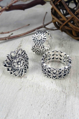 Kendra Trio Ring Set