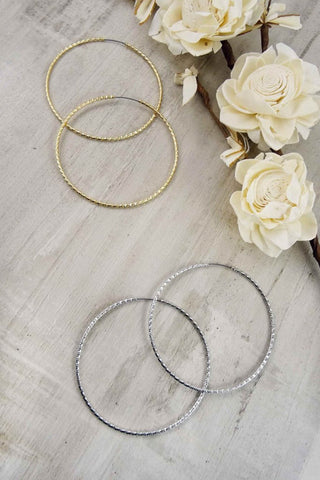 Endless Hoop Earrings