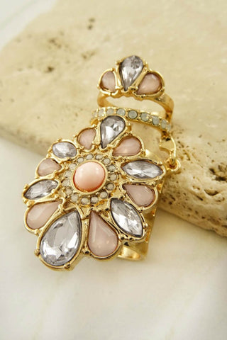 Alice Movable Stone Ring