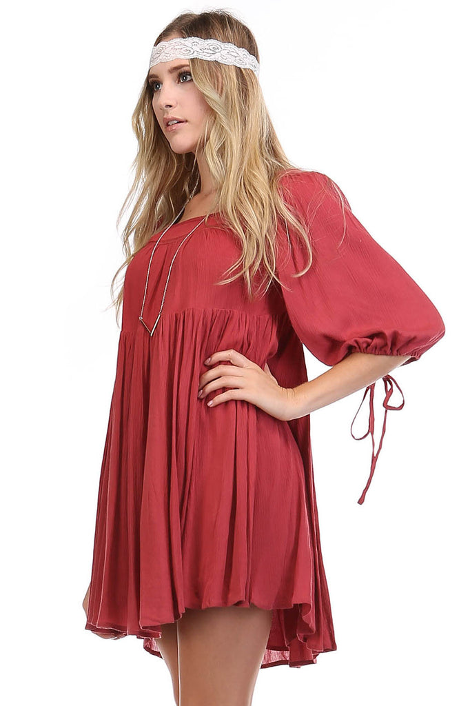 Bohemian Flyaway Dress