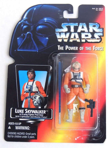 Star Wars Luke Skywalker in X-wing Fighter Pilot Gear with Lightsaber and Blaster Pistol Action Figure