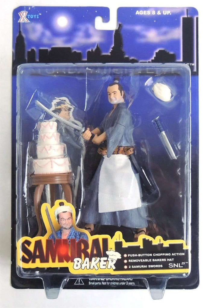 Samurai Baker John Belushi Saturday Night Live Action Figure New in Box by XTOYS SNL New in Package
