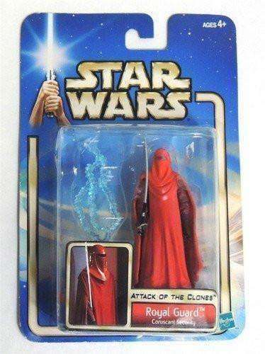 Royal Guard Coruscant Security Star Wars Attack of the Clones Action Figure NIP new in box