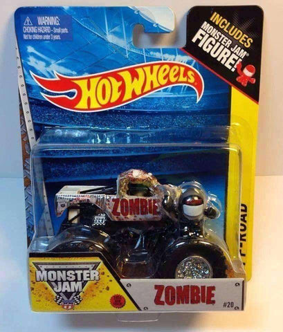 2013 Hot Wheels Monster Jam Zombie Monster Truck NIB Mattel Monster Jam Figure