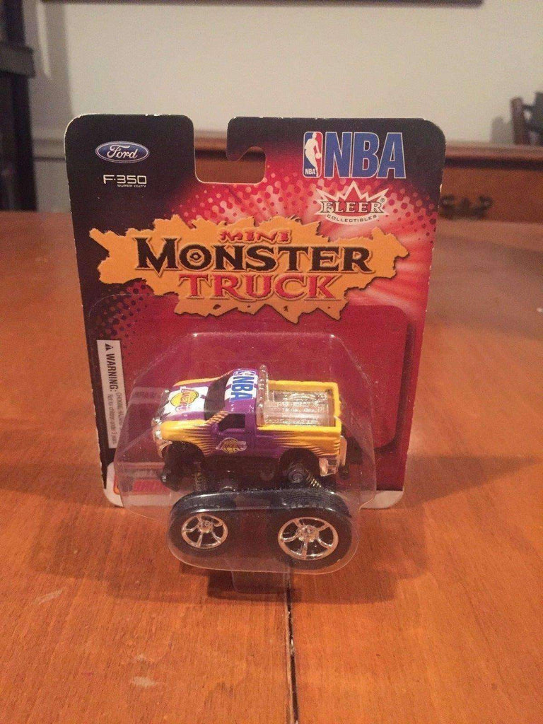 Los Angeles Lakers NBA Ford F-350 Mini Monster Truck by Fleer Collectibles NIB 2003 NIP