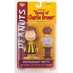 Peppermint Patty Good Ol Charlie Brown Action Figure by Memory Lane