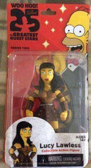 Lucy Lawless The Simpsons 25 of the Greatest Guest Stars Series 2 Action Figure New in Box NECA