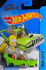 2013 Hot Wheels The Simpsons HW City The Homer Car by Mattel
