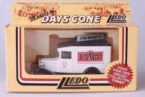 Lledo Models of Days Gone The Exchange Mart Newspaper Truck 1980's