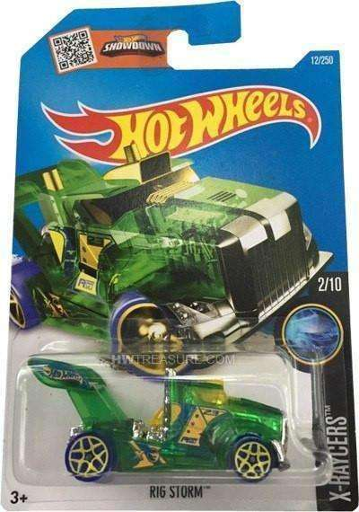 2015 Hot Wheels Big Rig X-Racers