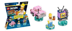 The Simpsons Lego Dimensions Springfield Adventure Level Pack NIB 71202 98 Pcs