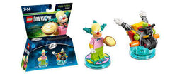Simpsons LEGO Dimensions Krusty the Clown Fun  Pack