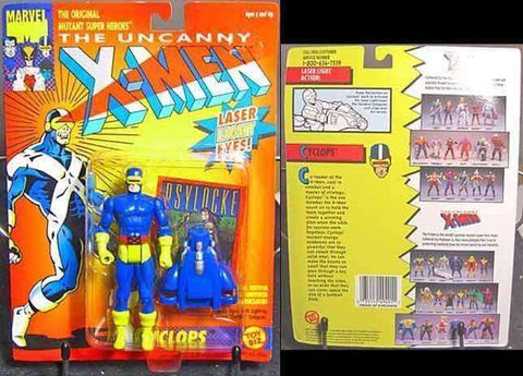 The Uncanny X-Men 1991 Cyclops Action Figure by Toy Biz NIP New in Box New in Package NIB