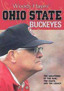 Woody Hayes Ohio State Buckeyes DVD 2008 Football BUCKS OSU Ohio St New NIP