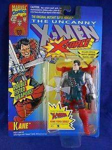 The Uncanny X-Men X-Force 1993 Kane Action Figure by Toy Biz NIP New in Box New in Package NIB