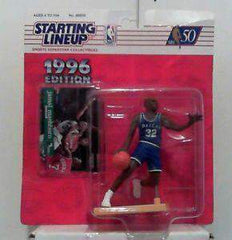 1996 Jamal Mashburn Dallas Mavericks NBA Starting Lineup Action Figure MAVS NIB Kenner