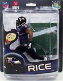 Ray Rice Baltimore Ravens McFarlane Action Figure NIB NFL Series 32