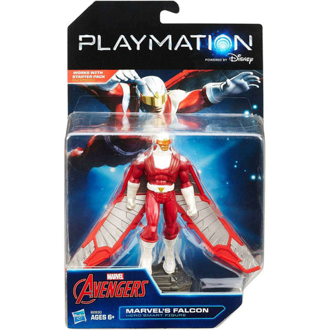 Marvel Avengers Disney Playmation Marvel's Falcon Hero Smart Figure NIB Hasbro