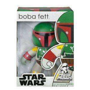 Bobba Fett Star Wars Mighty Muggs Vinyl Figure by Hasbro