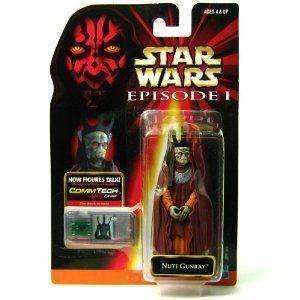Star Wars Episode 1 Nute Garay action figure New in Box New in Package Hasbro