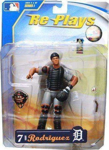 2007 Ivan Pudge Rodriguez Detroit Tigers Re Plays MLB Action Figure NIB NIP New in Package