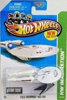 2013 Hot Wheels Star Trek U.S.S. Enterprise NCC-1701 by Mattel