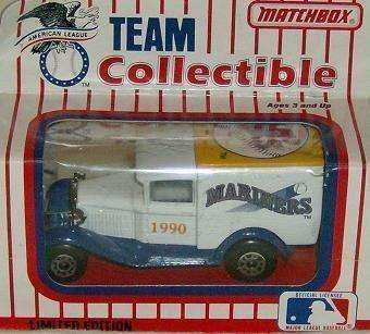 1990 Matchbox Seattle Mariners Truck