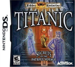 Titanic Hidden Mysteries Secrets of the Fateful Voyage Nintendo DS Video Game NIB Activision NIP
