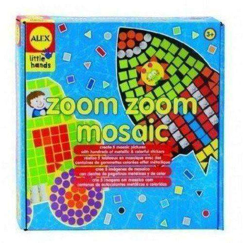 Zoom Zoom Mosaic NIB by Alex Toys new in box Arts & Crafts Stickers