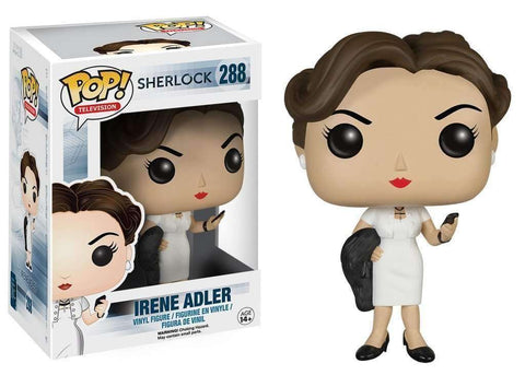 The Sherlock Irene Adler Pop! Television figure by Funko