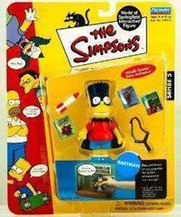 The Simpsons Bartman Bart Simpson World of Springfield Action Figure Playmates New in Package