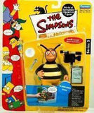The Simpsons Bubblebee Man World of Springfield Action Figure Playmates New in Package